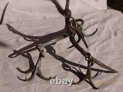 18th Century Wrought Iron Grapin-pu