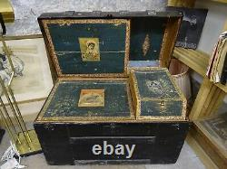 19th Century Old Compartmentalized Play Malle