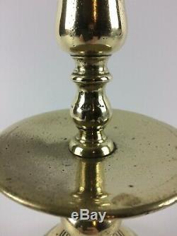 A Former Candlestick Drive Flambeau Haute Epoque XVII Bronze Netherlands
