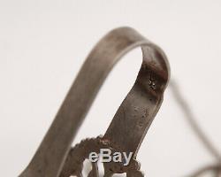 A Hook Scissors Chatelaine Silver Minerva Orfevre Edmond Loze 19th Z263