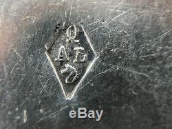 A Hook Scissors Silver Chatelaine Minerva Orfevre Alfred Quantin 19th Z266