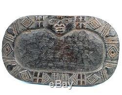 African Art Arts Early Yoruba Yoruba Divination Plate Nigeria ++