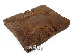 African Art Arts Premiers Plate Divination Yoruba Yoruba 22 Cms