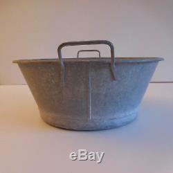 Alg Zinc Basin Vintage Art Deco Twentieth France