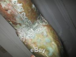 Ancienne Vane Coq Copper Thread Copper Art