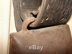 Ancient Alpine Bell Signed Devouassoud Chamonix 1st Qte 5 Folk Art