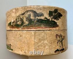 Ancient Box A Powder Arte Povera 18th Antique Box Popular Art