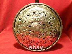 Ancient Brass Basin Decoration Ducal Crown And Cross Of Lorraine XVIII 18th