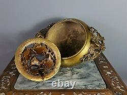 Ancient Indochina Burns Perfume Bronze V. Around 1900. Very Good Condition