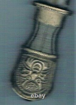 Ancient Tibetan Silver Knife