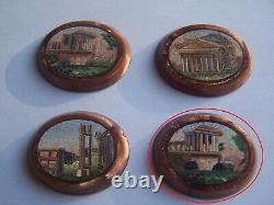 Antique Micro Mosaic Roma Forum Roman Micromosaic Mosaic Mosaic Mosaic Rome