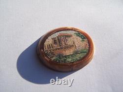 Antique Micro Mosaic Rome Forum Roma Micromosaic Mosaic Mosaic Mosaic