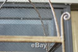 Aviary Bird Cage Metal Mesh 1900 Style Aviary