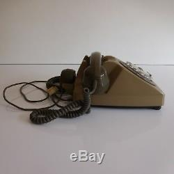 Bakelite Dial Phone Ptt 1986 Art Deco Design Twentieth Pn France