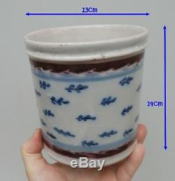 Beautiful Pot Tobacco Imperial Faience, Nevers, Empire Period, Nineteenth