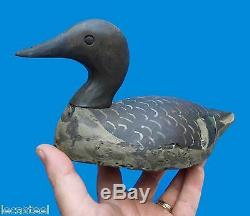 Bel Caller Carved Wood Folk Art Duck Hunting