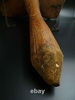Belle Saddle A Traite Says Boot-ass In Resinous Art Popular Art Haute-savoie Alpage