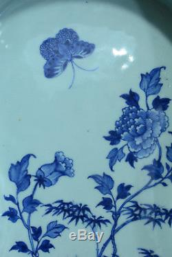 Bidet Porcelain White Blue Peonies Butterflies China Bidet Toilet Toilet 18thc