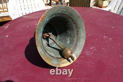 Bronze Old Cloch 14 KG College Monastere Chapelle Sonorite Extra