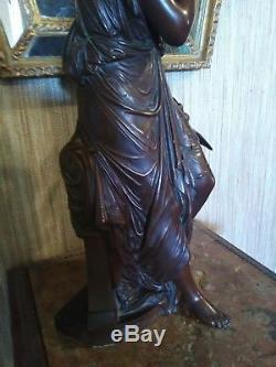 Bronze Signed François Mage 1846-1910