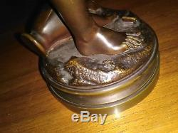 Bronze Signed Jean-baptiste Germain 1841-1910