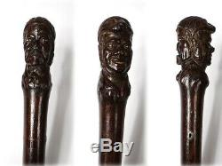 Cane Rosewood Carved Jean Rit Cruise Shipowner Bordeaux Xviiith Century