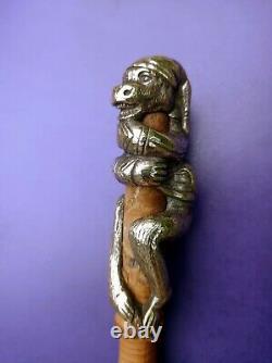 Canne Monkey Apple Bronze Silver