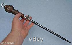 Carved Butcher Gun To The Signed Eagle Paw Fabre Slaughter 1900