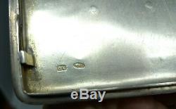 Case Has Cigarettes Russian Silver Antique Enamelled Silver 84 Russian Enamels