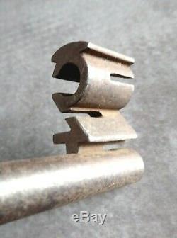 Chest Key In Three, Astonishing Bit 19th Century