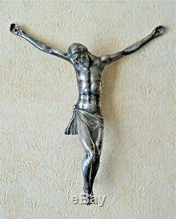 Christ In Sterling Silver Cast 18th Century Religion