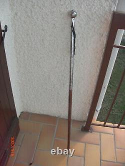 Collection Cane Stick XVIII È Silver Candle Signed Giobatta Torchione Fecit