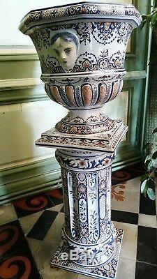 Column Pot Cache Geo Martel Decor Rouen