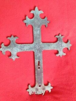 Corse Native Copper Procession Trilobed Cross 10 Iemme 13 Iemme Pisane