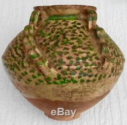 Covered Terracotta Of The South West End XVII Th Piece Of Excavation Rare Model