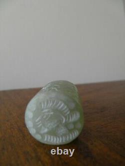 Cylinder Seal En Pierre Verte Phoenicien