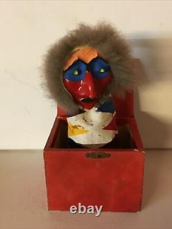 Devil In Devil's Box At Spring Surprise Box Ancient Toy 1930s