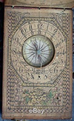 Diptyque Solar Dial, Signed, XVIII