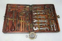 Exceptional Set Of Miniature Mechanical Fitter Tools