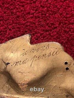 Exclusive Broche Ancient Splendid Piece Unique Dedicated And Signed O. Yencesse