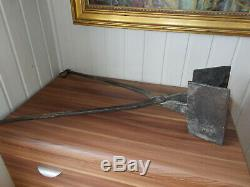 Fer Mold Wafers Large Claws Cast Iron Cross XVII Century 1697 4kg500