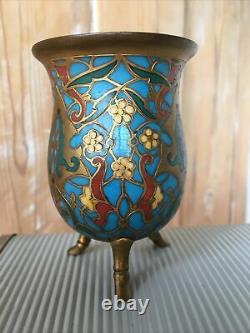Ferdinand Barbedienne Golden Bronze Vase