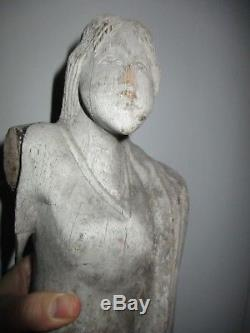 Figure Woman In Wood High-time Possibly Provo Ship 17-18th
