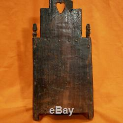 Folk Art Carved Wooden Box Nineteenth Chataignier Folk Art Carved Wood Box