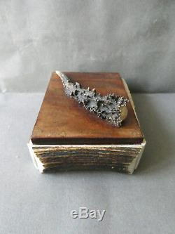 Folk Art Object Cynegetic, Box With Deer Antler, Hunting, Game