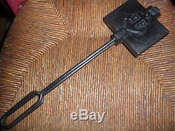 Folk Art Object, Small Waffle Mold 36 CM -312