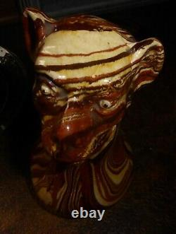 Former 19th Century Absinthe Pitcher Apt Earthenware Or Castellane Earth Mixed With Monkey