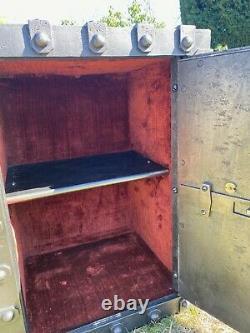 Former Big Box Fort Bauche Cloute Paris Old Safe Cassaforte