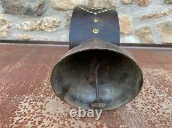 Former Cow Bell Devouassoud Chamonix No 3 With Leather Collar