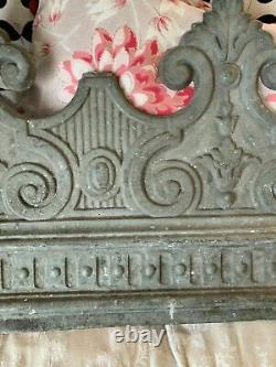 Former Foil Sword In Zinc Napoleon III Antique Victorian Roof Final